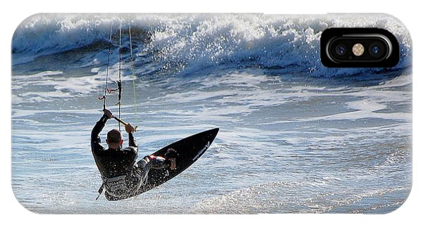 The Kite Surfer IPhone Case