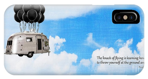 Uplift iPhone Case - The Knack Of Flying by Edward Fielding