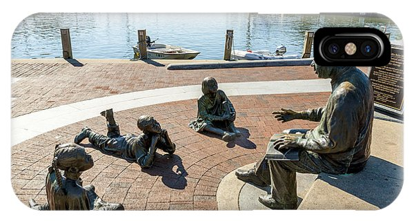 The Kunta Kinte-alex Haley Memorial In Annapolis IPhone Case