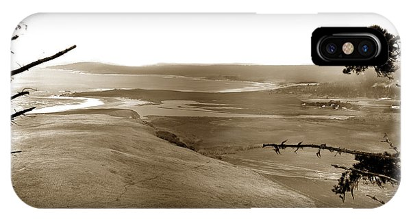 The Lagoon At The Mouth Of The Carmel River  From Fish Ranch California 1905 IPhone Case