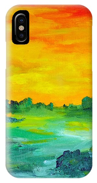 The  Lagoon IPhone Case