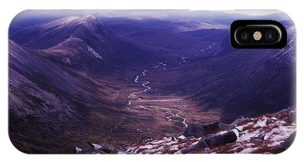 The Lairig Ghru - Cairngorm Mountains - Scotland IPhone Case