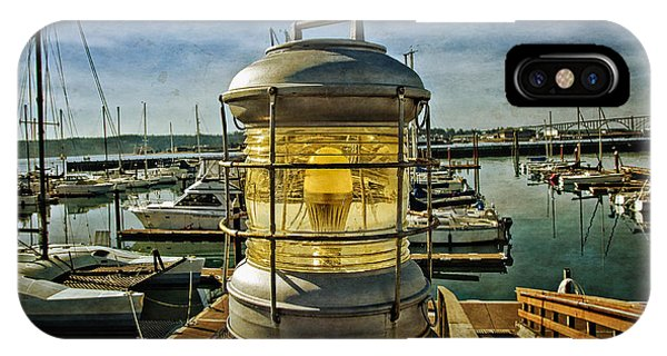 The Lamp At Embarcadero  IPhone Case