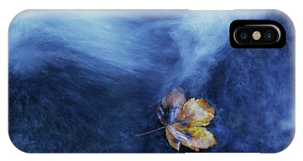 Flow iPhone Case - The Landing by Michel Manzoni