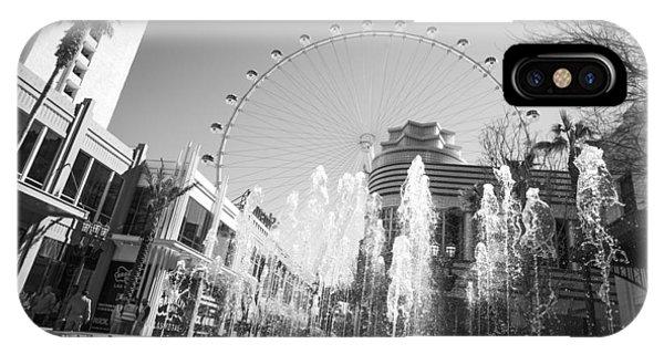 The Las Vegas High Roller IPhone Case