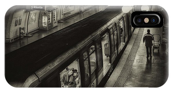 French iPhone Case - The Last Metro by Thomas Siegel