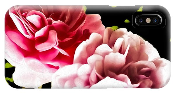 iPhone Case - The Last Roses Of Summer by Nancy Marie Ricketts