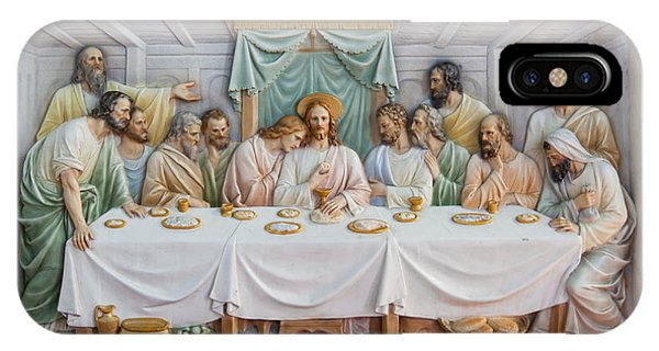 IPhone Case featuring the photograph The Last Supper by Fran Riley