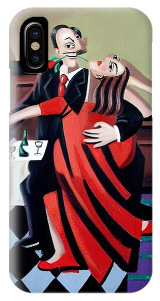 Tango iPhone Case - The Last Tango by Anthony Falbo