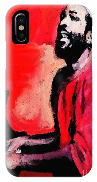 The Late Great Marvin Gaye IPhone Case