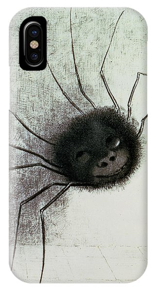 The Laughing Spider IPhone Case