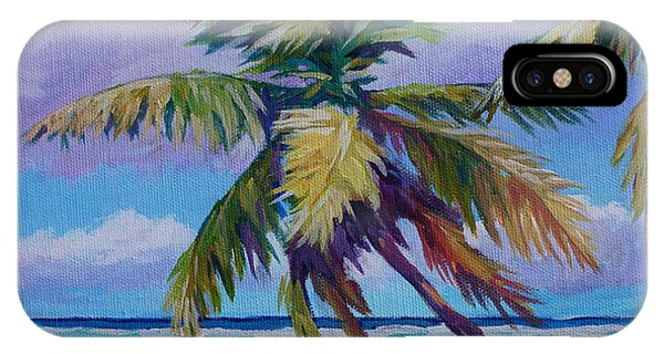 The Leaning Palm IPhone Case