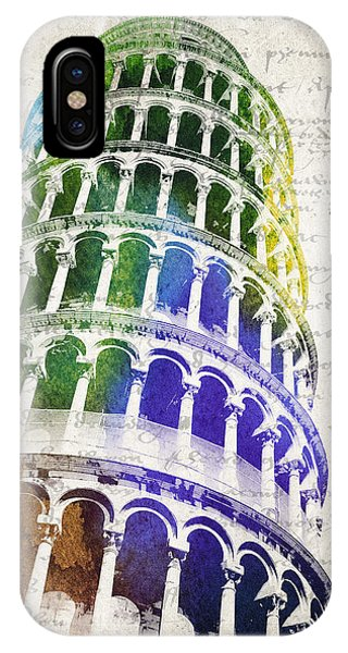 The Leaning Tower Of Pisa IPhone Case