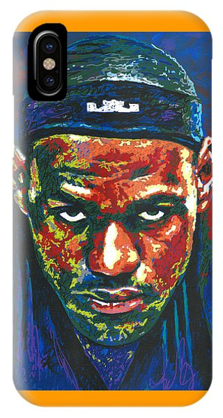 The Lebron Death Stare IPhone Case