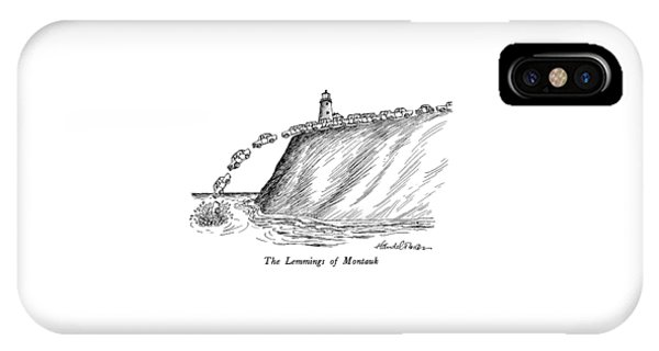 The Lemmings Of Montauk IPhone Case