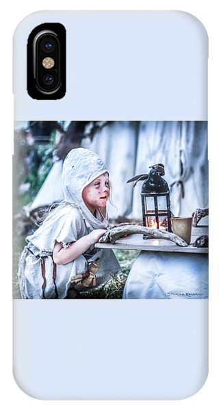 IPhone Case featuring the photograph The Leprosy Child And The Healing Lantern by Stwayne Keubrick