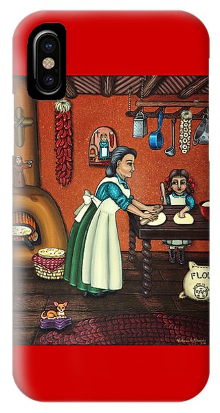 The Lesson Or Making Tortillas IPhone Case