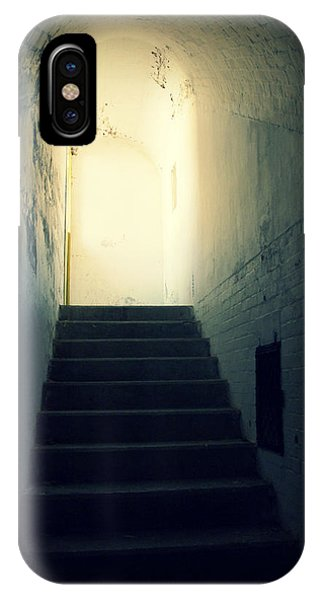 The Light At The Top Of The Stairs IPhone Case