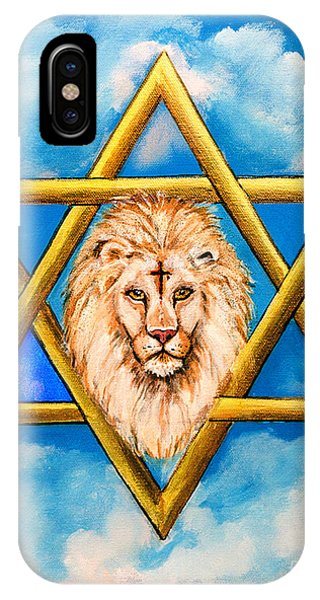 The Lion Of Judah #5 IPhone Case
