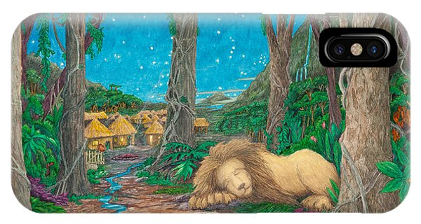 The Lion Sleeps Tonight ... IPhone Case