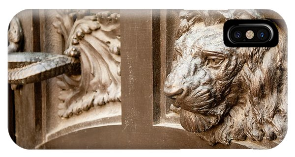 The Lion's Head Door IPhone Case