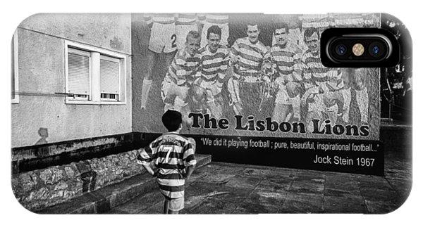 Celtics iPhone Case - The Lisbon Lions by Donovan Torres