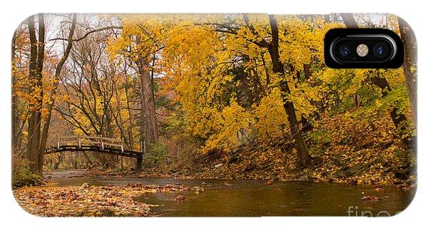 The Little Bridge Over Valley Creek IPhone Case