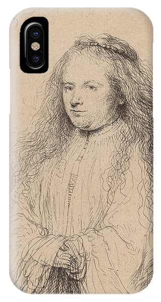 Baroque iPhone Case - The Little Jewish Bride by Rembrandt