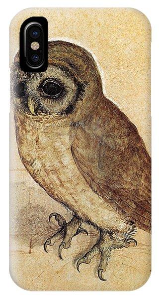 Albrecht Durer iPhone Case - The Little Owl 1508 by Philip Ralley