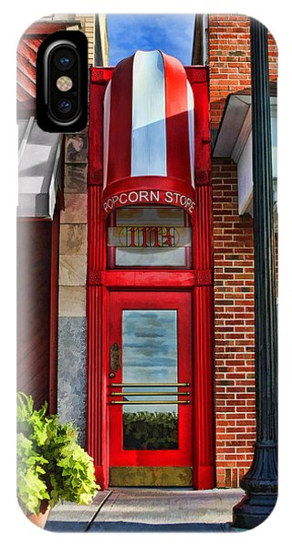 The Little Popcorn Shop In Wheaton IPhone Case