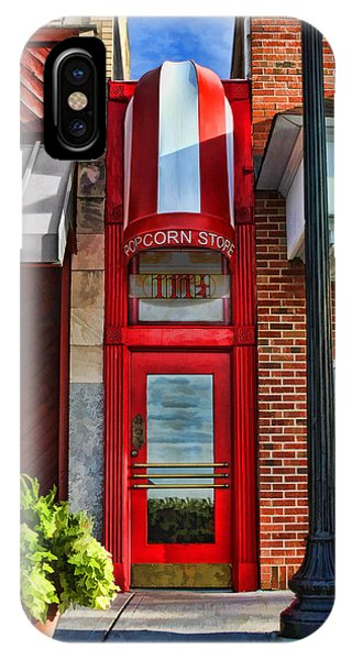 The Little Popcorn Shop In Wheaton IPhone Case