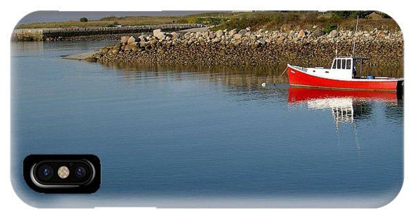The Little Red Boat IPhone Case