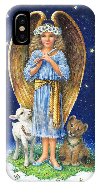 The Littlest Angel IPhone Case