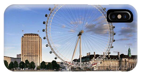 London Eye iPhone Case - The London Eye by Rod McLean