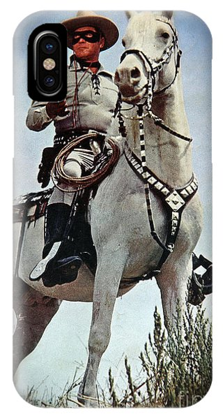 Clayton iPhone Case - The Lone Ranger by Bob Hislop