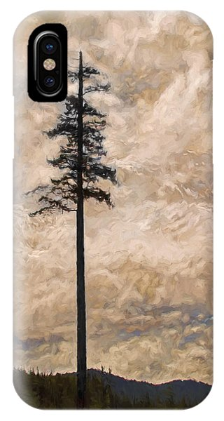 The Lone Survivor Stands In Tranquility IPhone Case