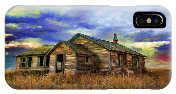 The Lonely House IPhone Case