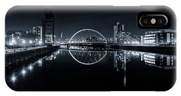 The Long View Down The Clyde IPhone Case