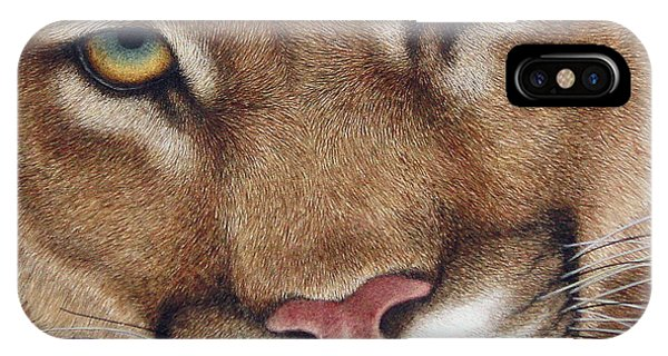The Look Cougar IPhone Case