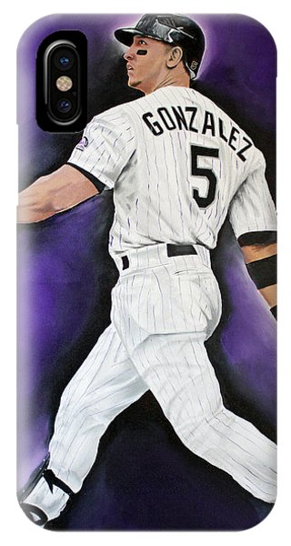 Carlos Gonzales IPhone Case