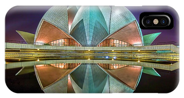 The Lotus Temple Phone Case by Jiti Chadha