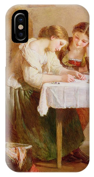 The Love Letter, 1871 IPhone Case