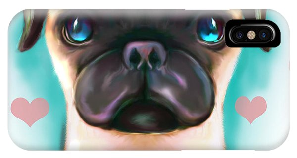 The Love Pug IPhone Case