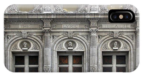 The Lyric Theatre In New York IPhone Case