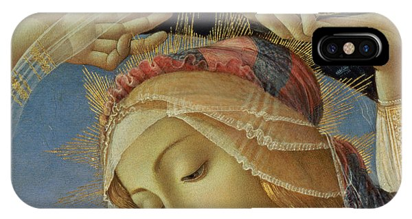 Botticelli iPhone Case - The Madonna Of The Magnificat by Sandro Botticelli