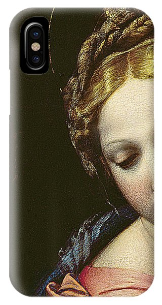 Raphael iPhone Case - The Madonna by Raphael