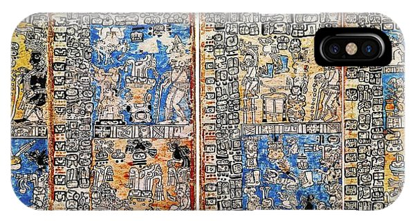 Maya iPhone Case - The Madrid Codex by Universal History Archive\\uig/science Photo Library