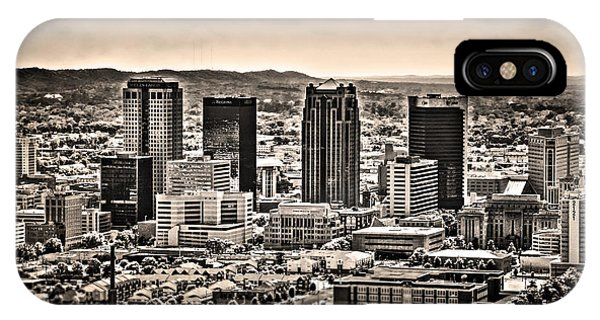 The Magic City Sepia IPhone Case