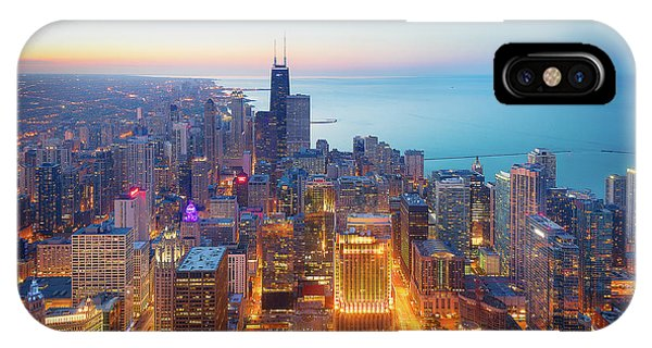Grant Park iPhone Case - The Magnificent Mile by Michael Zheng