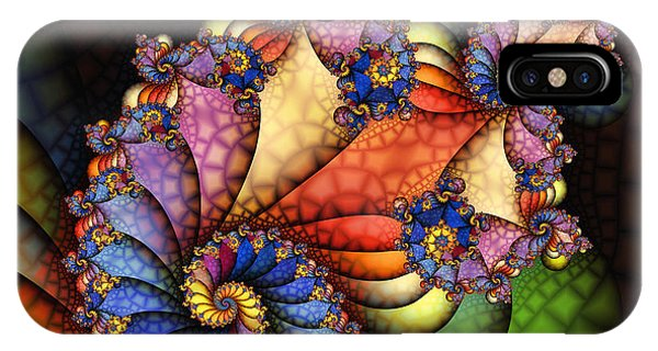 The Maharajahs New Hat-fractal Art IPhone Case